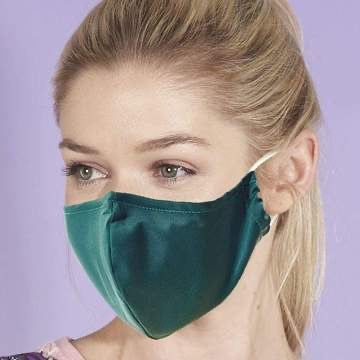 Reusable washable Face Mask Rainforest Green