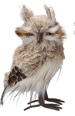 Plush Orn 22cm - Faux Fur Owls