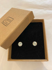 Earrings - Swarovski Style Diamanté Studs