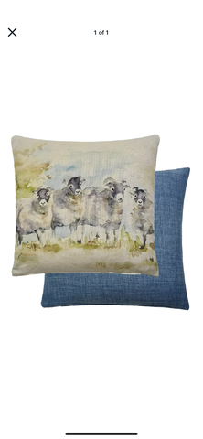 Lorient Decor by Voyage Cushion - Aries Sheep