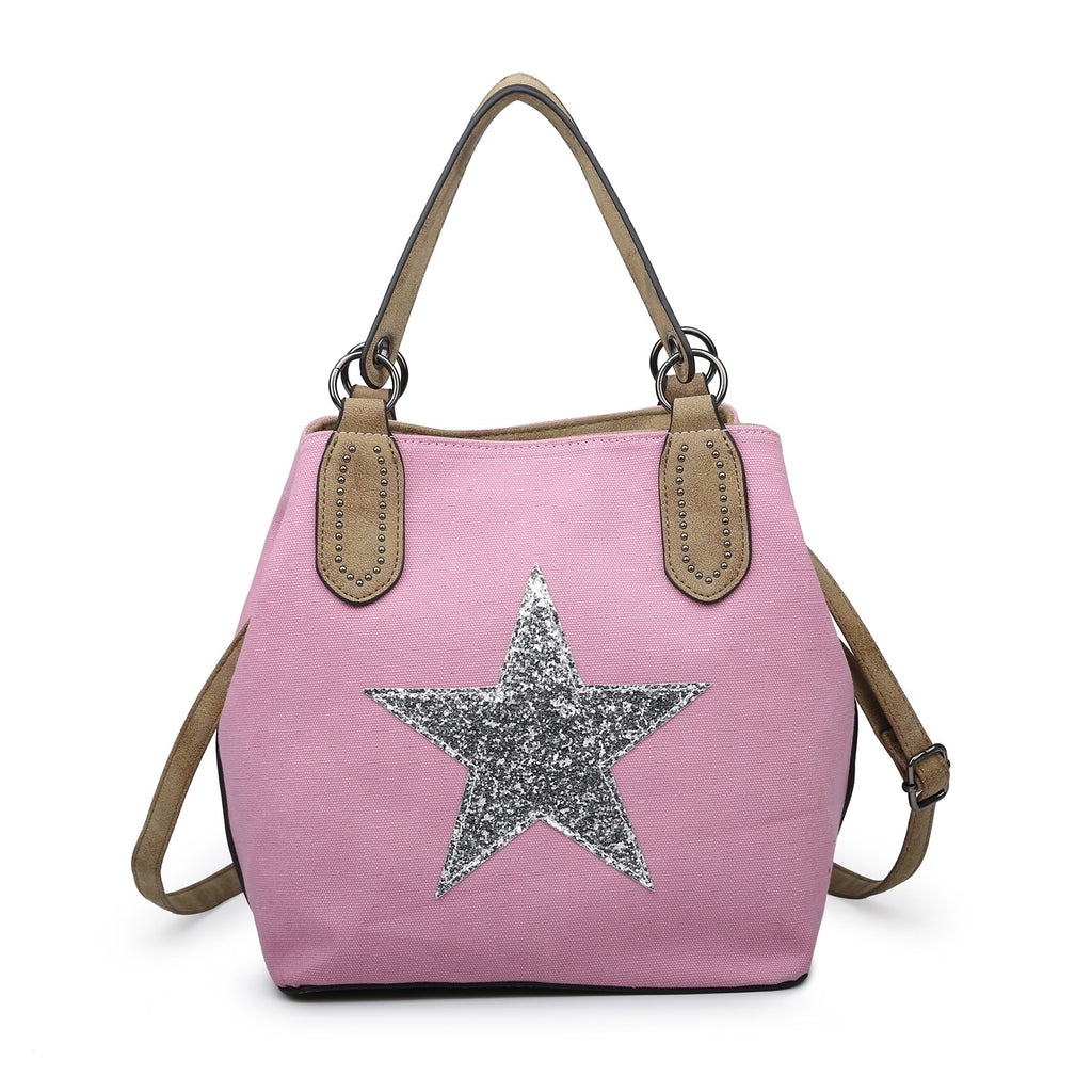 Star Bag Medium Pale Pink