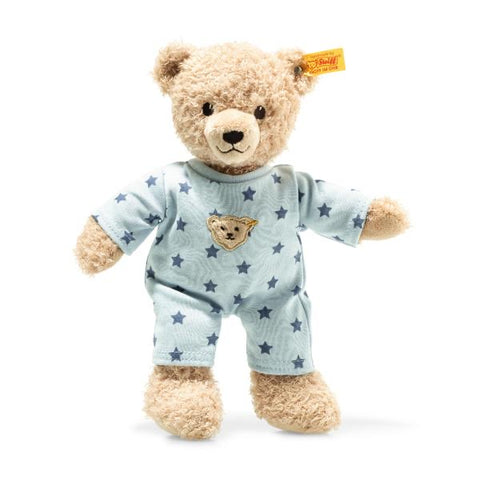 STEIFF TEDDY IN PYJAMAS – Blue