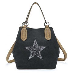 Star Bag Medium Charcoal