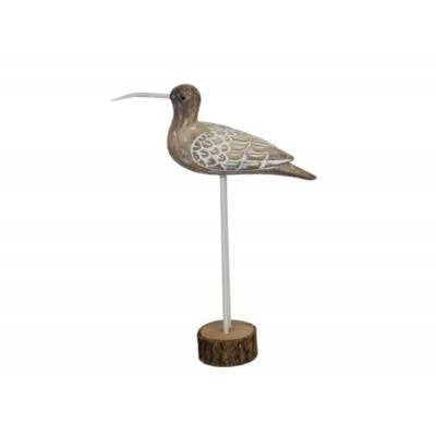 Long Beaked Bird Ornament by Gisela Graham