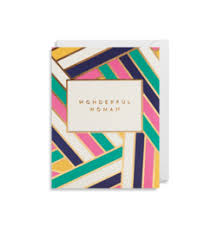 Lagom Design Mini Card - Wonderful Woman