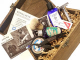 Groomsmen Gifts Deluxe Shave Kit ( set of 6 )