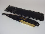 Straight Edge Razor - Gold Shaver