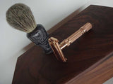 Walnut and Maple - Vintage Gillette Fatboy (GOLD)