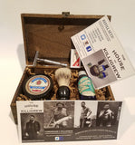 Wood Wet Shave Kit Gift Box