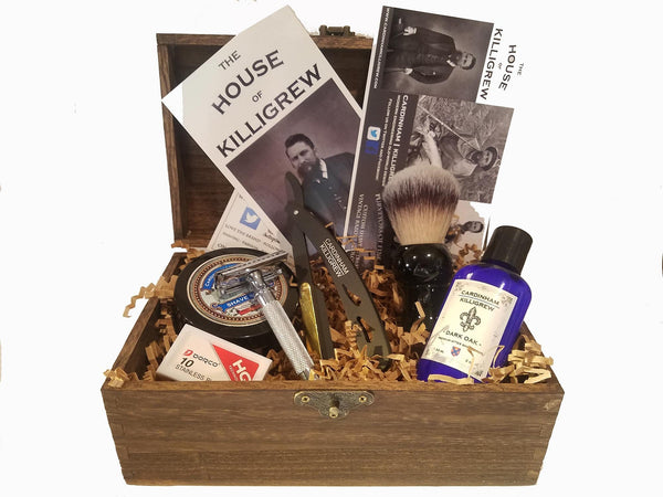 Wood Shave Kit Gift Box