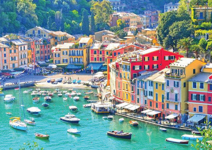 The colourful and tasteful Italian Riviera