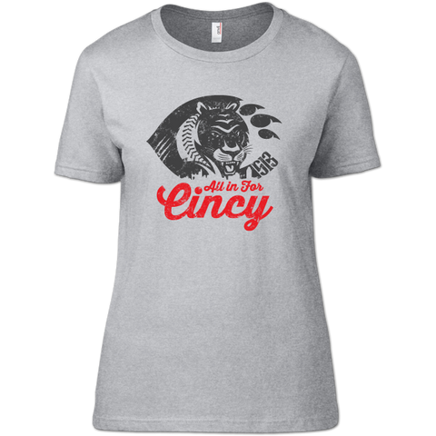 All In For Cincy Women's T-Shirt