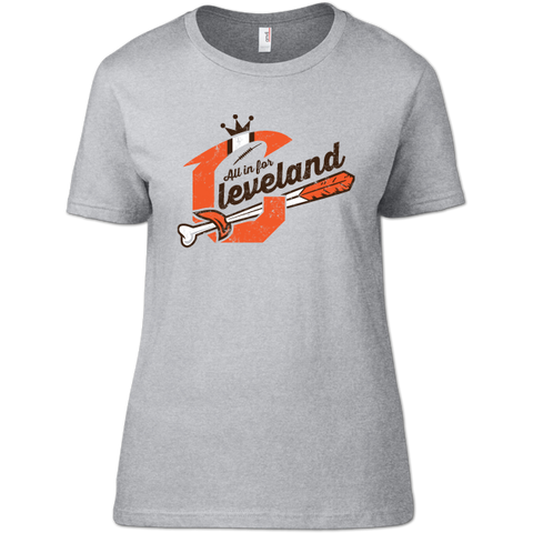 All In For Cleveland Women's T-Shirt