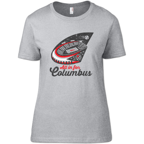 All In For Columbus Women's T-Shirt
