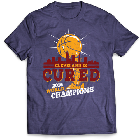 Cleveland Is Cured - 2016 Championship Commemorative T-Shirt