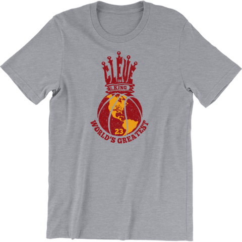 Cleveland is King Basketball T-Shirt