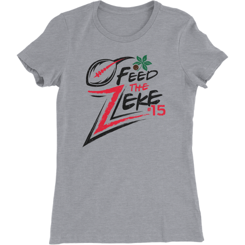 Feed the Zeke Ohio Pride State Women's T-Shirt