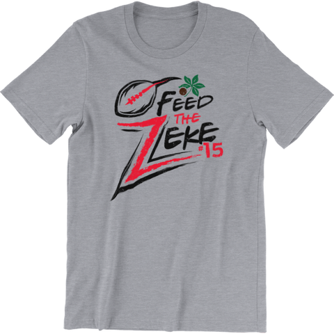 Feed The Zeke Ohio Pride State T-Shirt