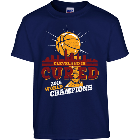Cleveland Is Cured - 2016 Championship Commemorative Kids T-Shirt