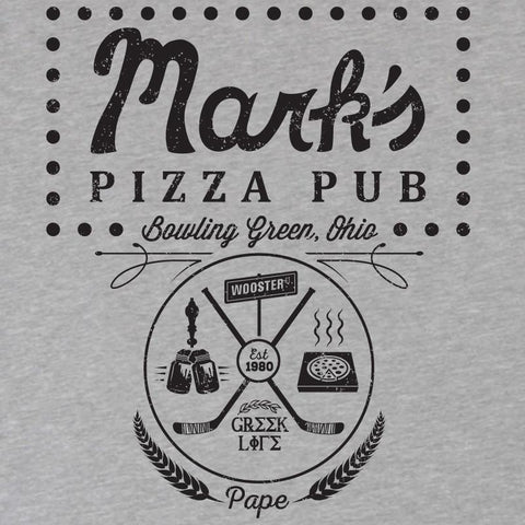 Bowling Green Mark's Pizza Pub T-Shirt