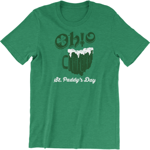 Ohio Beer Mug St. Patrick's Day T-Shirt