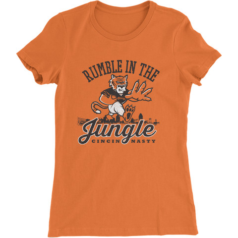 Rumble in the Jungle Cincinnati Ladies' T-Shirt
