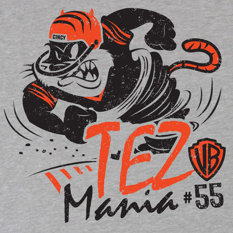 Cincinnati's Tez Mania Ladies' T-Shirt