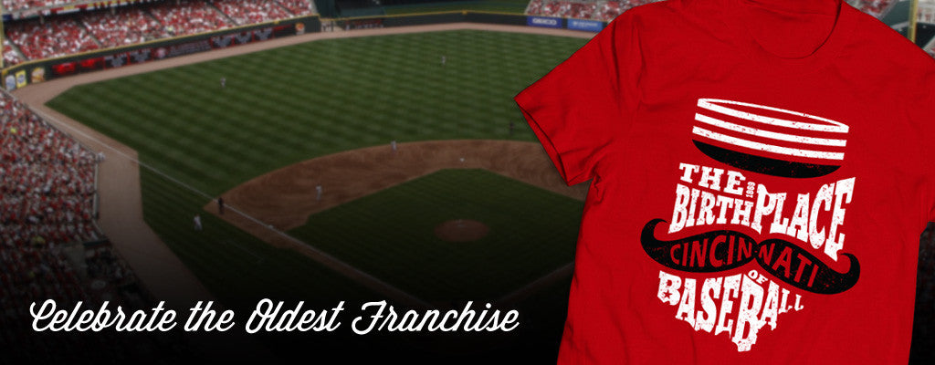 Cincinnati baseball t-shirts