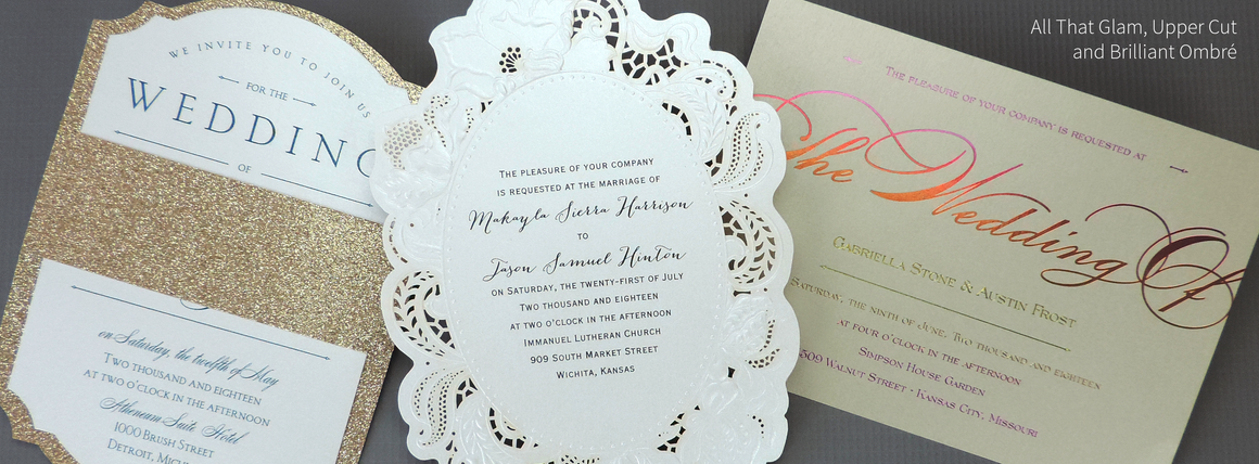 Wedding Invitations - Love Wedding Shop