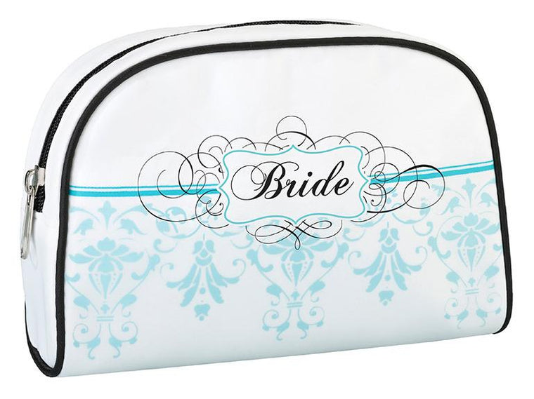 Aqua Bride Makeup Bag - Love Wedding Shop