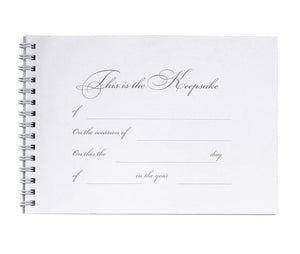 Black Damask Guest Book and Pen Set - Love Wedding Shop