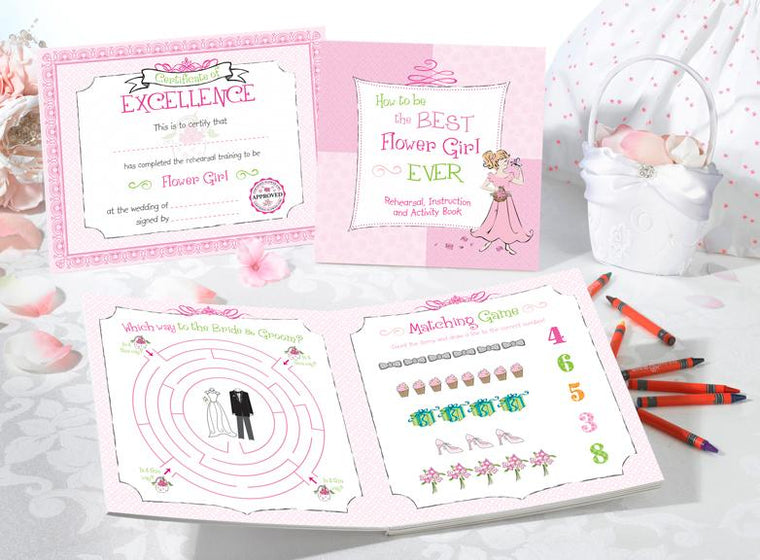 Flower Girl Activity Set - Love Wedding Shop