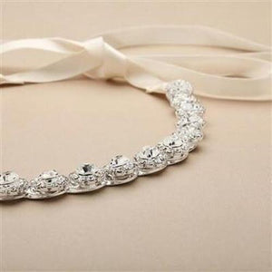 Genuine Preciosa Crystal Wedding Headband