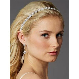 Genuine Preciosa Crystal Wedding Headband - Love Wedding Shop