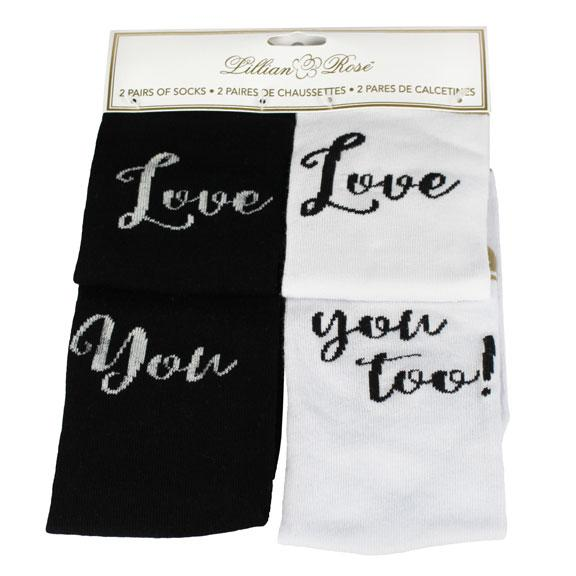 Love You Socks - Love Wedding Shop