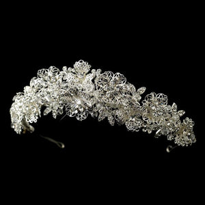 Magnificent Rhinestone and Crystal Bridal Tiara - Love Wedding Shop
