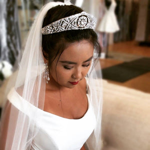 Meghan Markle Replica Rhinestone Tiara - Love Wedding Shop