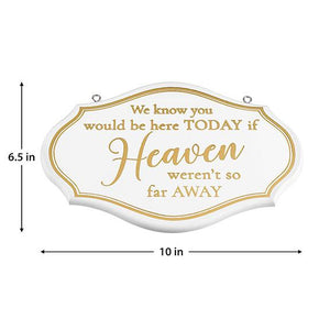 Memorial Wedding Chair Sign Dimensions - Love Wedding Shop