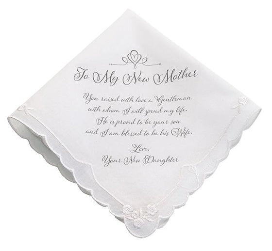 New Mother-in-law Handkerchief From Bride - Love Wedding Shop