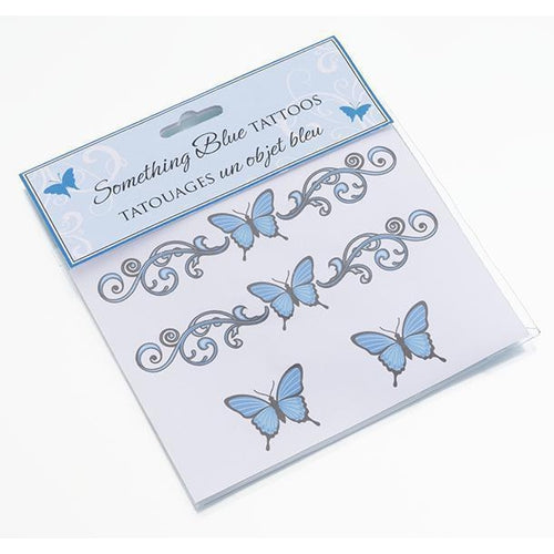 Something Blue Temporary Tattoos - Love Wedding Shop