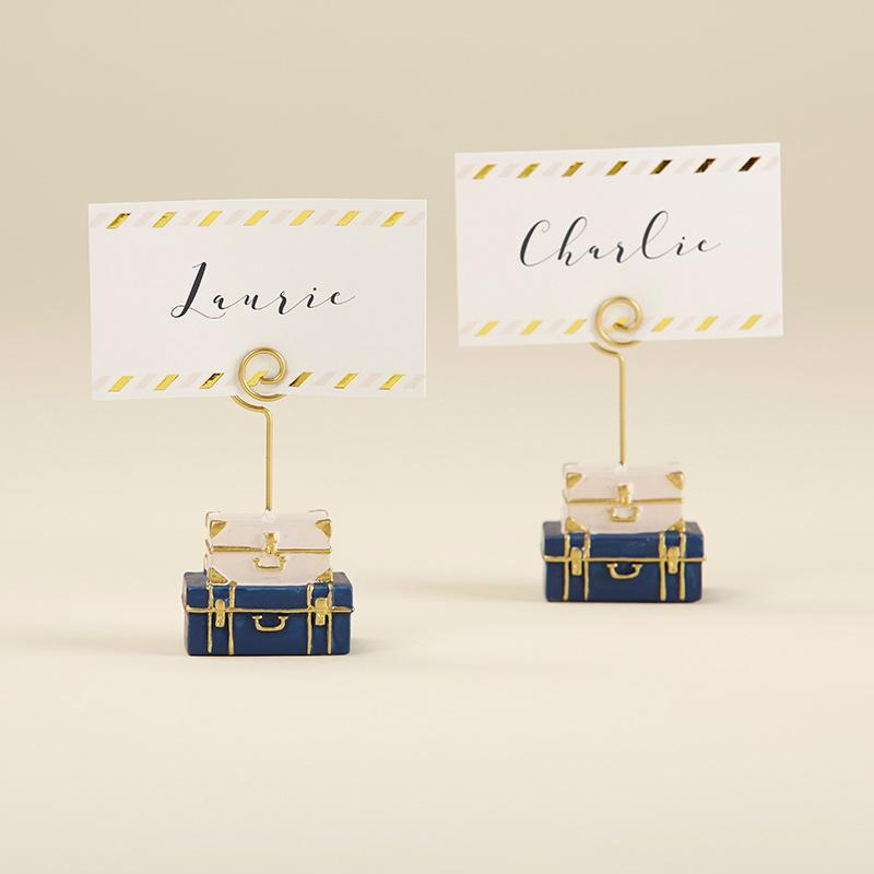 Suitcase Place Card Holder - Love Wedding Shop
