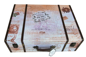 True Love Suitcase Wedding Card Box - Love Wedding Shop