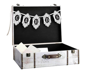 Suitcase Wedding Card Box Open - Love Wedding Shop
