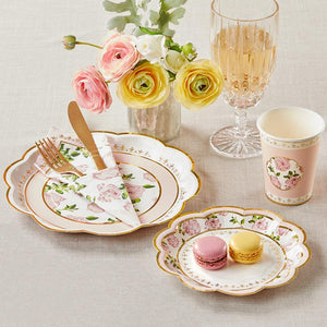 Pink Tea Time Whimsy Table Setting - Love Wedding Shop