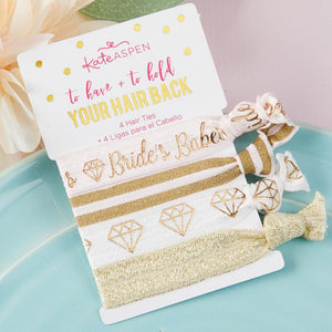 To Have and To Hold Your Hair Back Bridal Party Hair Ties