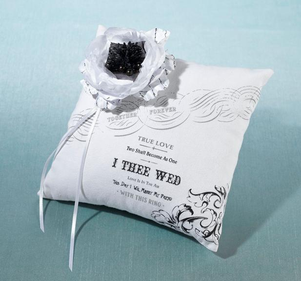 True Love Ring Bearer Pillow - Love Wedding Shop
