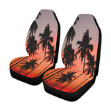 Palm Trees at Sunset Car Seat Covers