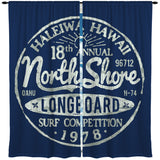 VINTAGE BLUE NORTH SHORE CURTAINS