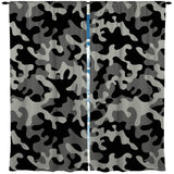 CAMO CAMOUFLAGE WINDOW CURTAINS FROM EXTREMELY STOKED