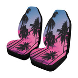 Palm Trees on the Beach Car Seat Covers